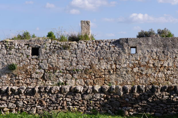 inner stone wall
