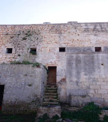 Main building entran