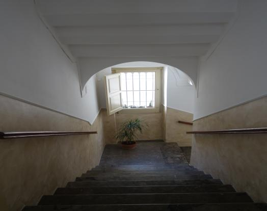 Stairs from entrance