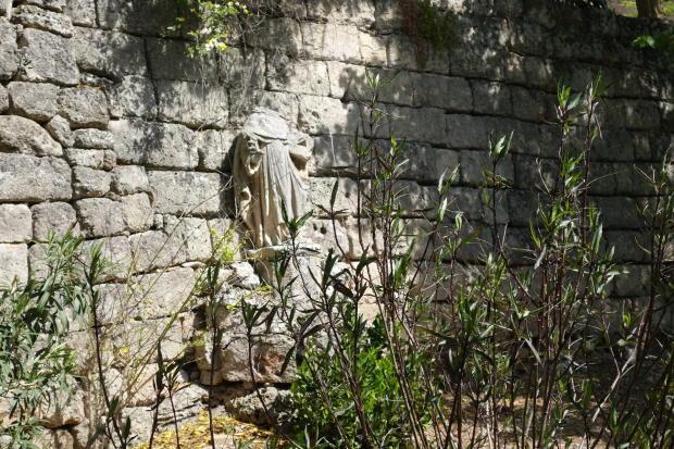 Beautiful stone wall