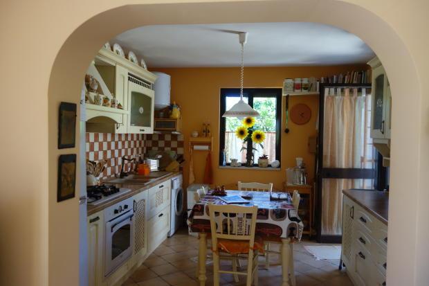 The kitchen in g.h