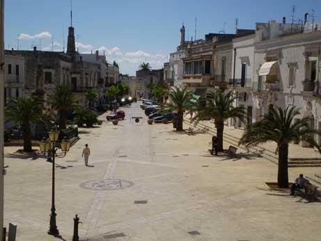 Carovigno old town