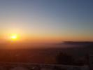 Sun rise in March