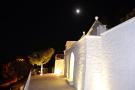 Trullo terrace night