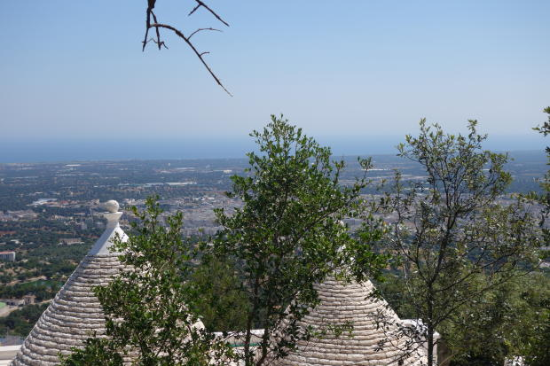 View fr above trullo