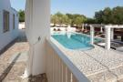 View to pool and bar