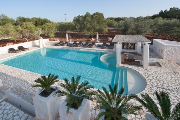 The designed pool