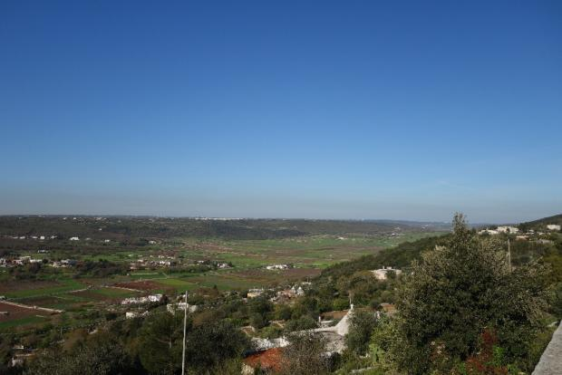 View of the valley