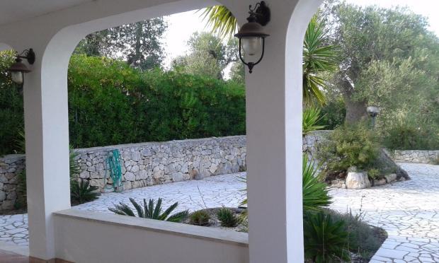 looking out veranda