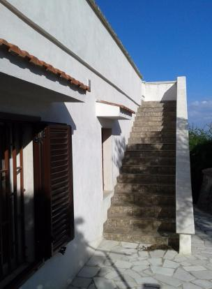 Stairs to roof terra