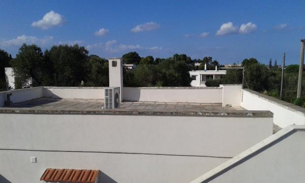 Villa roof terrace