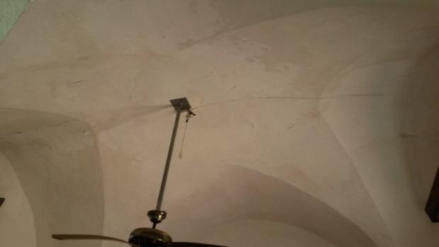 Star vaulted ceiling