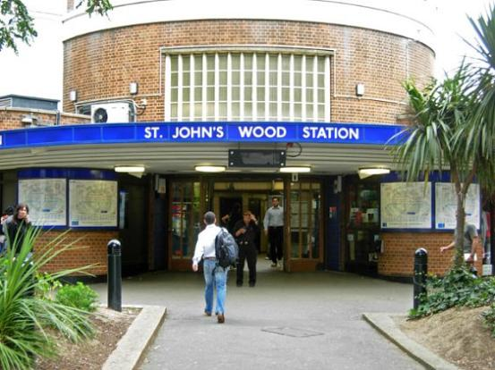 St Johns Wood Tube