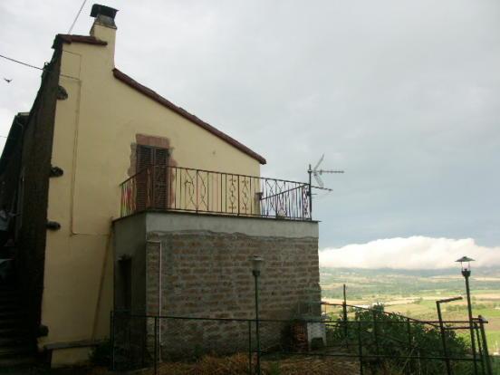 terraced apartment