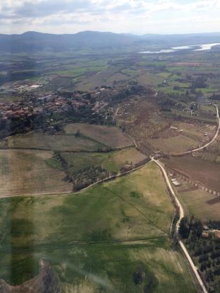 Tiber Valley view