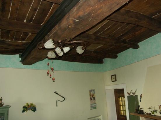 big wooden beams