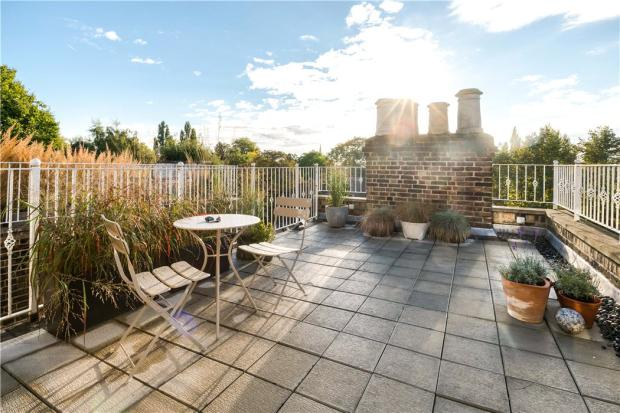 Nw3: Roof Terrace
