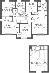 The MacRae, Floor 1