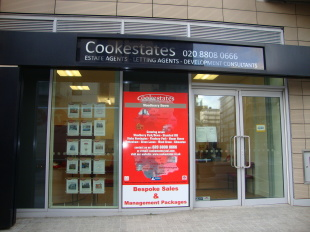 Cookestates, Tottenhambranch details
