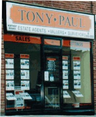 Tony Paul Estate Agents, Northoltbranch details