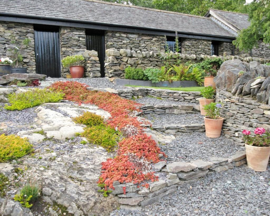 Garden and outhou...