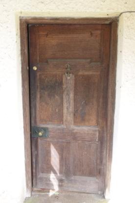 Oak front door