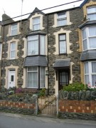 Terraced house in Marine Gardens, Barmouth...