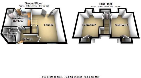 Longcon Cottage - 3D