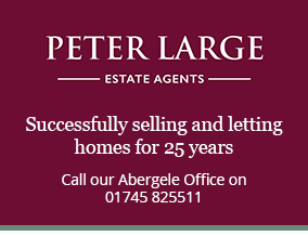 Get brand editions for Peter Large Estate Agents, Abergele