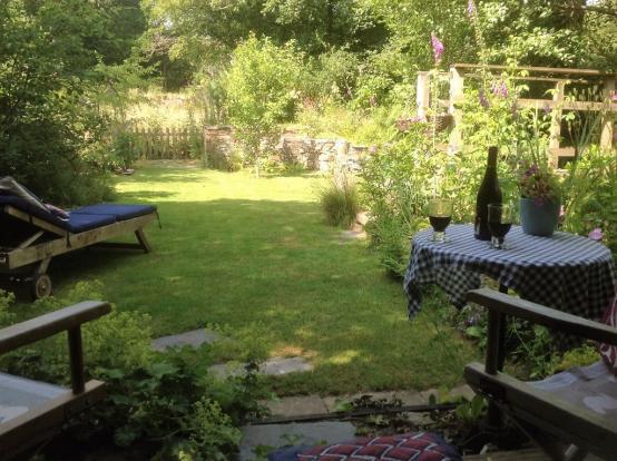 Summer garden at ...