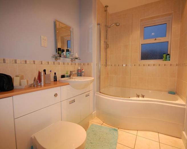 photo of beige orange bathroom ensuite ensuite bathroom