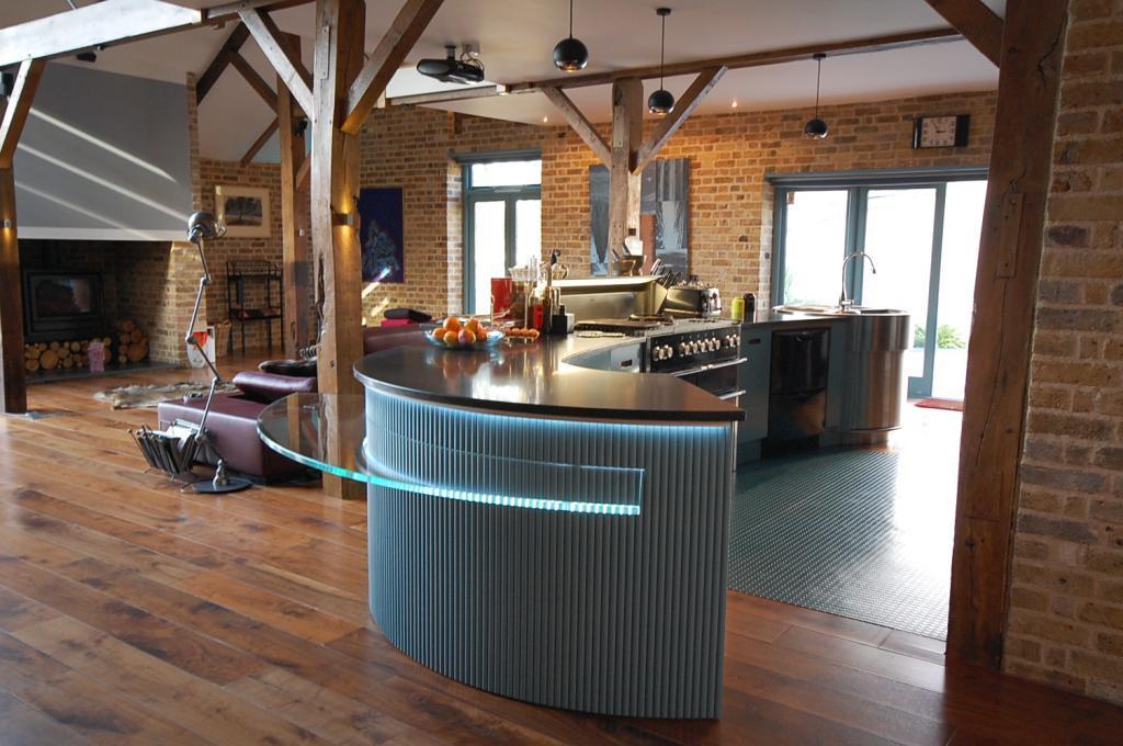 Contemporary Island Kitchen Design Ideas Photos