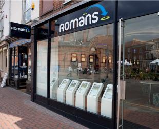 Romans, Wokinghambranch details