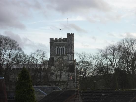 View From Loft Room