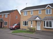 3 bed semi detached house in Stukeley Meadows...
