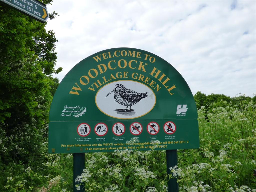 View of Woodcock Hil