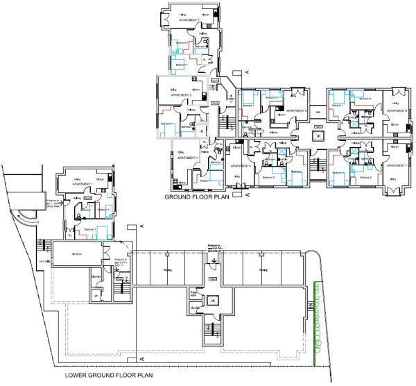 Ground floor plan...