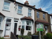 Terraced property in Chipstead Valley Road...