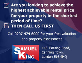 Get brand editions for Samuel King, Canning Town