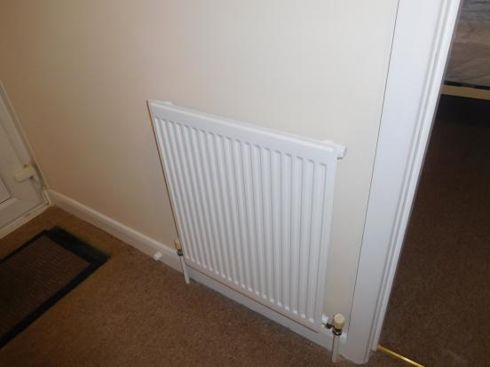 Gas central heating