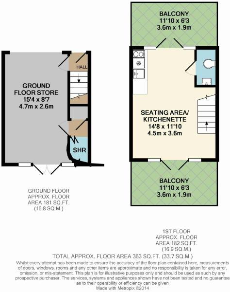Marine property for sale in duver road seaview po34 5aj for Beach hut plans