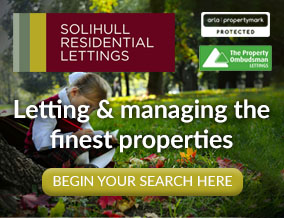Get brand editions for Solihull Residential Lettings, Solihull