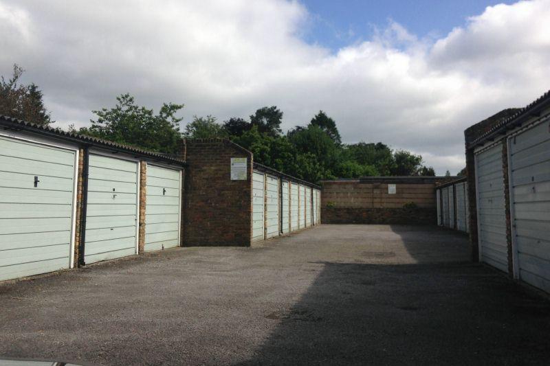 Garage In Block (left)