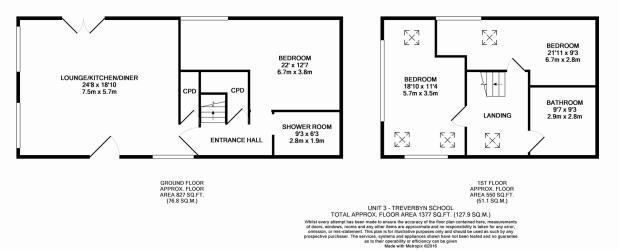 Unit 3 Floorplan