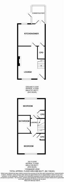119 Manor View floor