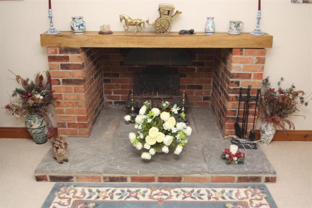 Holme Farm-fireplace