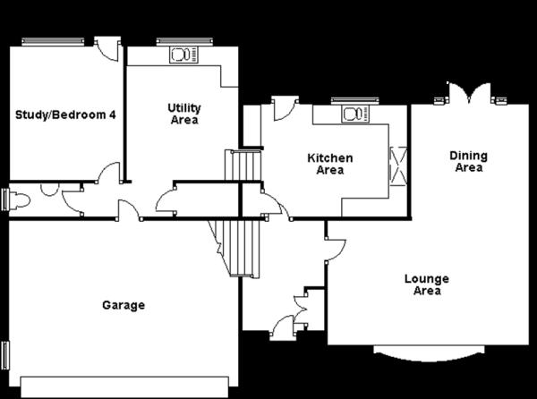Level ground floor