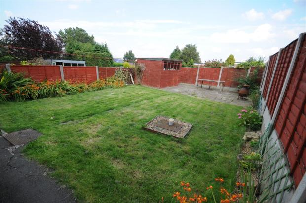 Rear garden, patio a