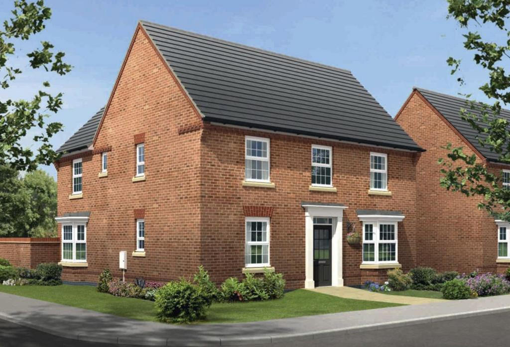 4 bedroom detached house for sale in blenheim close for Avondale house