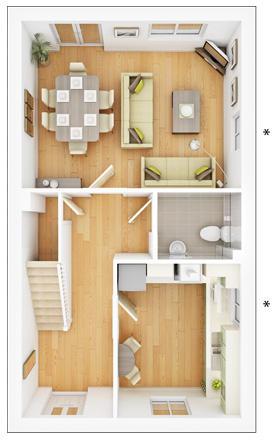 Maitland ground floor plan